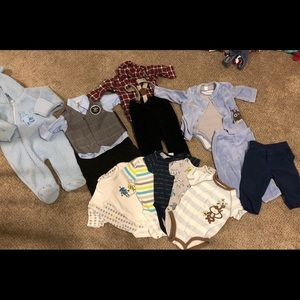 16 piece lot of 6/9 month boys clothing